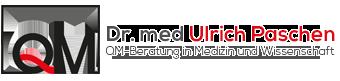 Dr. med. Ulrich Paschen | QM-Beratung in Medizin und Wissenschaft